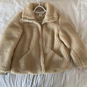 H&M Teddybear coat